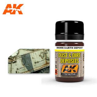 AK Interactive AK4063 BROWN EARTH DEPOSIT
