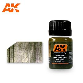 AK Interactive AK Interactive AK014 STREAKING GRIME FOR WINTER VEHICLES