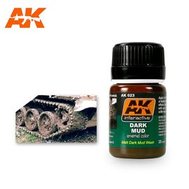 AK Interactive AK Interactive AK023 DARK MUD EFFECTS