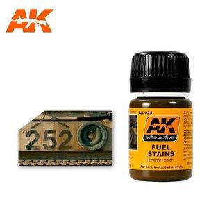 AK Interactive AK-025 FUEL STAINS