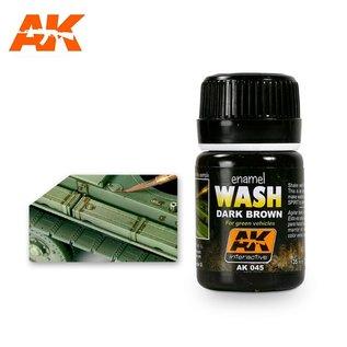 AK Interactive AK-045 WASH FOR GREEN VEHICLES