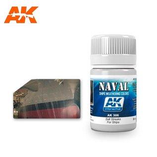 AK Interactive AK-306 SALT STREAKS FOR SHIPS