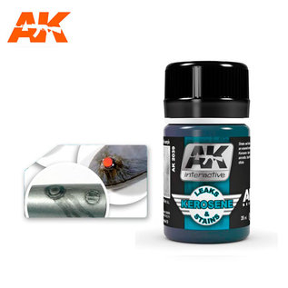 AK Interactive AK2039 KEROSENE LEAKS & STAINS