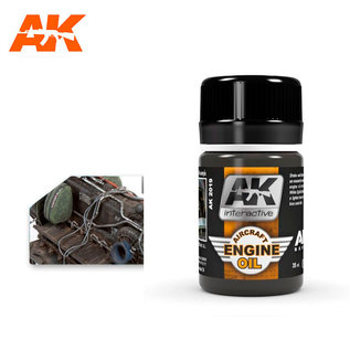 AK Interactive AK-2019 AIRCRAFT ENGINE OIL