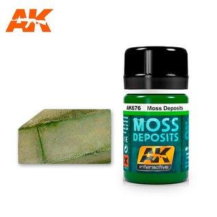 AK Interactive AK676 MOSS DEPOSIT