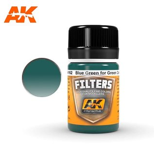 AK Interactive AK-4162 LIGHT FILTER FOR GREEN VEHICLES