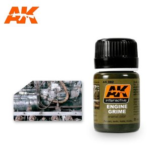 AK Interactive AK-082 ENGINE GRIME