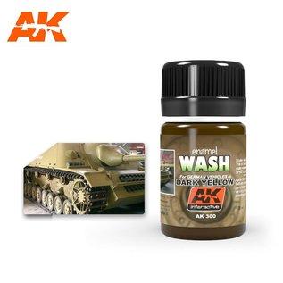 AK Interactive AK300 WASH FOR DARK YELLOW VEHICLES