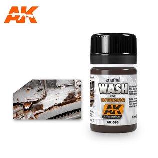 AK Interactive AK-093 WASH FOR INTERIORS