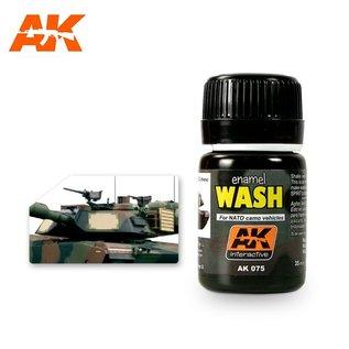 AK Interactive AK075 WASH FOR NATO VEHICLES