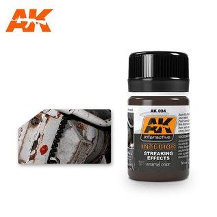 AK Interactive AK094 INTERIOR STREAKING GRIME