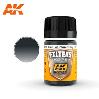 AK Interactive AK071 FILTER FOR PANZER GREY VEHICLES