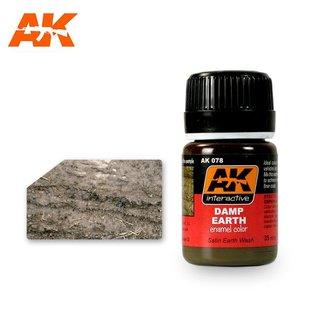 AK Interactive AK078 DAMP EARTH EFFECTS
