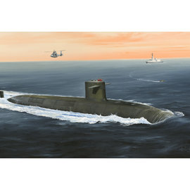 "HobbyBoss Hobbyboss - French ""Le Triomphant "" Submarine - 1:350"
