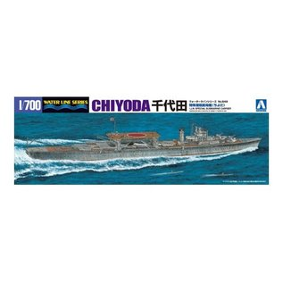 Aoshima I.J.N. Special Submarine Carrier Chiyoda - Waterline No. 549- 1:700