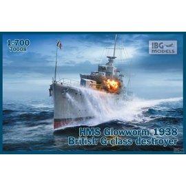 IBG Models IBG - HMS Glowworm 1938 British G-class Destroyer - 1:700