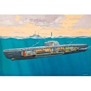 Revell U-Boot Typ XXI U 2540 mit Interieur - 1:144