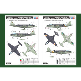 HobbyBoss Hawker Seahawk MK.100/101 - 1:72