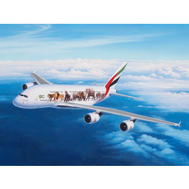 "Revell Revell - Airbus A380-800 Emirates ""Wild Life"" - 1:144"