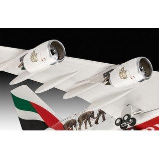 "Revell Airbus A380-800 Emirates ""Wild Life"" - 1:144"
