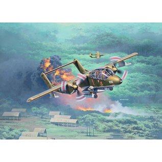 Revell Rockwell OV-10A Bronco - 1:72