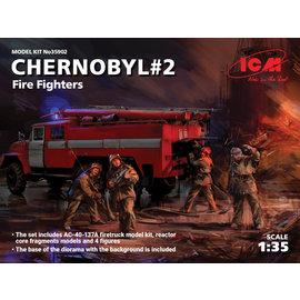 "ICM ICM - ZIL-131 Firetruck AC-40-137A ""Chernobyl"" - 1:35"