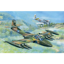 """Trumpeter Trumpeter -Cessna A-37A """"Dragonfly"""" Light Ground-Attack Aircraft - 1:48 - Copy"""