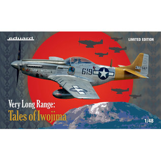 Eduard P-51D VERY LONG RANGE: Tales of Iwojima, Limited Edition - 1:48
