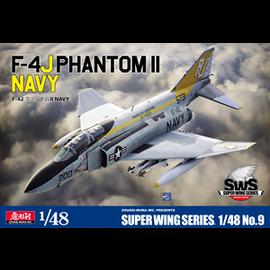 """Zoukei-Mura Zoukei Mura - F-4J Phantom II Navy VF-142 """"Ghostriders"""" - 1:48"""