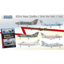 Special Hobby Special Hobby - SMB-2 Super Mystere Duo Pack & Book  - 1:72