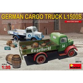 MiniArt MiniArt - German Cargo Truck Mercedes L1500S  - 1:35