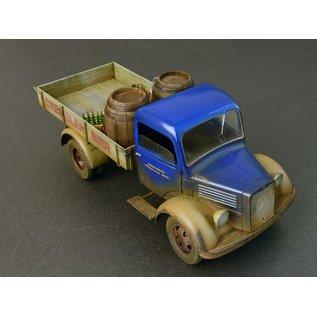 MiniArt German Cargo Truck Mercedes L1500S- 1:35