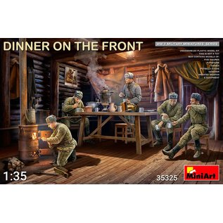 MiniArt Dinner on the Front  - 1:35