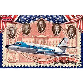 Roden Roden - Lockheed VC-140B Jetstar  - 1:144