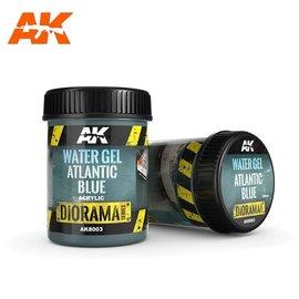 AK Interactive AK Interactive - WATER GEL ATLANTIC BLUE - 250ml (Acrylic)
