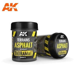 AK Interactive TERRAINS ASPHALT - 250ml (Acrylic)