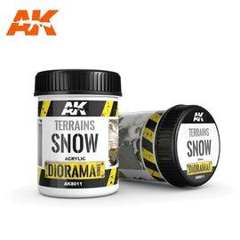 AK Interactive AK Interactive - TERRAINS SNOW - 250ml (Acrylic)