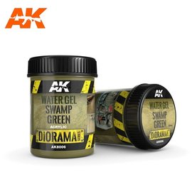 AK Interactive AK Interactive - WATER GEL SWAMP GREEN EFFECTS - 250ml (Acrylic)