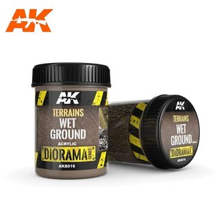 AK Interactive TERRAINS WET GROUND - 250ml (Acrylic)