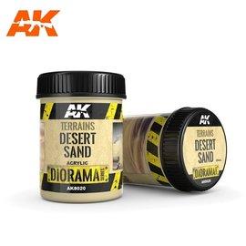 AK Interactive AK Interactive - TERRAINS DESERT SAND - 250ml (Acrylic)