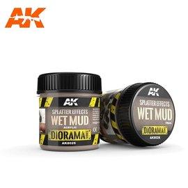 AK Interactive AK Interactive - SPLATTER EFFECTS WET MUD - 100ml - Base product (Acrylic)
