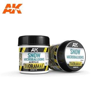 AK Interactive SNOW MICROBALLOONS - 100ml