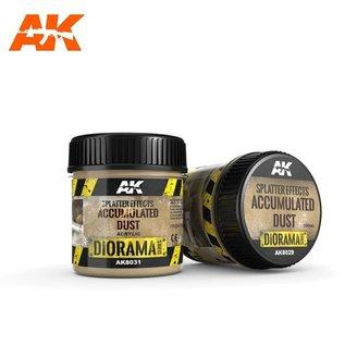 AK Interactive SPLATTER EFFECTS ACCUMULATED DUST - 100ml (Acrylic)