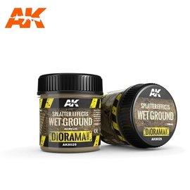 AK Interactive AK Interactive - SPLATTER EFFECTS WET GROUND - 100ml (Acrylic)