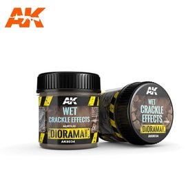 AK Interactive AK Interactive - WET CRACKLE EFFECTS - 100ml (Acrylic)