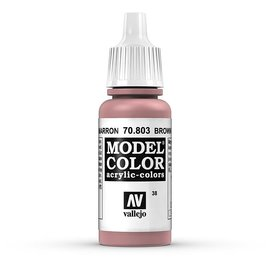 Vallejo Vallejo - Model Color - 803 - Braunrosa (Brown Rose), 17 ml
