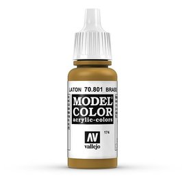 Vallejo Vallejo - Model Color - 801 - Messing (Brass), 17 ml