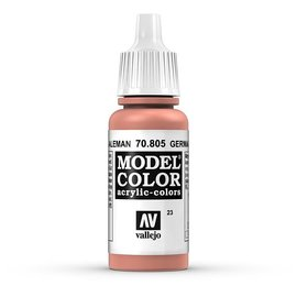 Vallejo Vallejo - Model Color - 805 - Lachsorange (German Orange), 17 ml