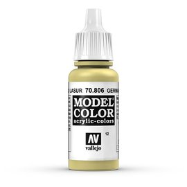 Vallejo Vallejo - Model Color - 806 - Lasur Gelb (Lasur Yellow), 17 ml