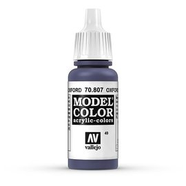 Vallejo Vallejo - Model Color - 807 - Oxford Blau (Oxford Blue), 17 ml